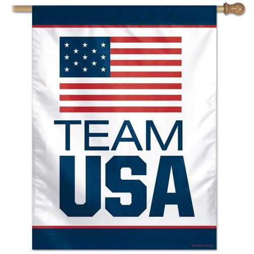 "Olympics Team USA Flag 27"""" x 37"""""