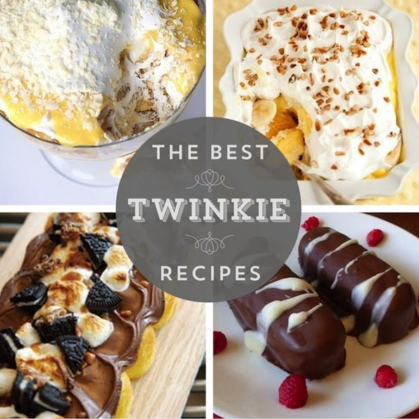 1000+ Images About Recipes Using Hostess Cakes On Pinterest