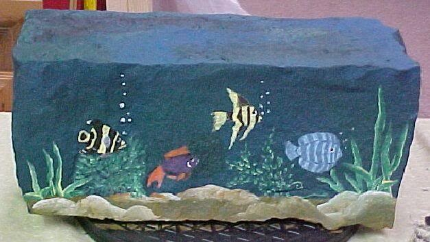17 best images about painted rocks fish sea life on for Koi garden bolzano