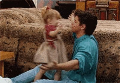 Try. | Undeniable Proof That Uncle Jesse And Michelle Are The Cutest Ever