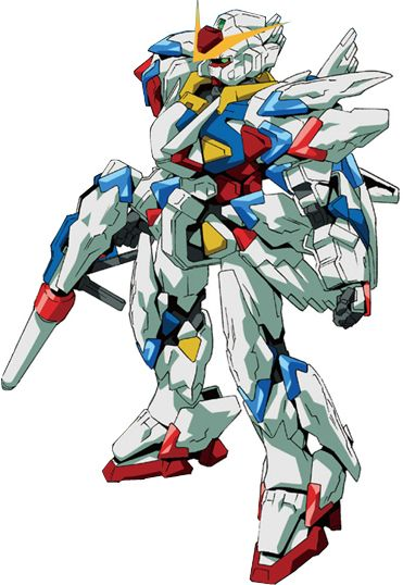 The GPB-X80-30F Beginning 30 Gundam is an upgraded version of the original GPB-X80 Beginning Gundam featured in Model Suit Gunpla Builders Beginning G. It is piloted by Haru Irei.