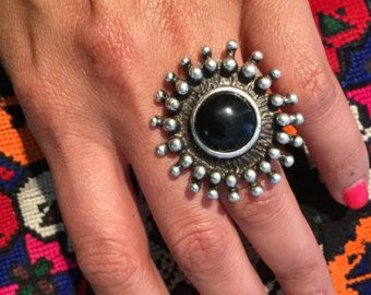 Vintage Ring-Kochi Tribe old Ring-Old by JewelsofNomads on Etsy
