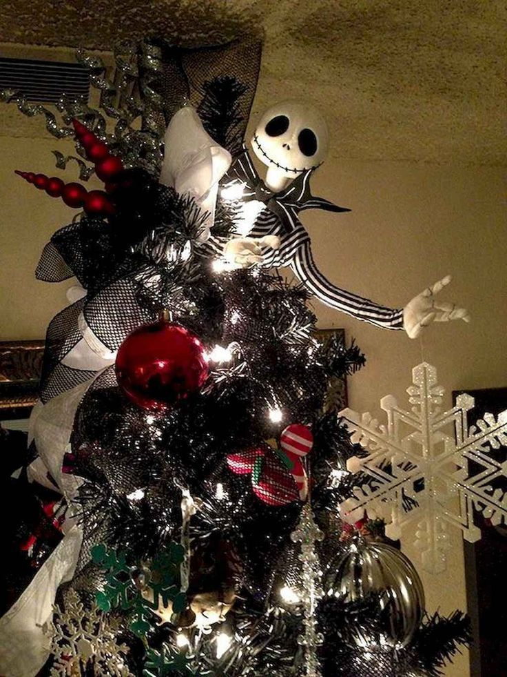 Awesome 65 Diy Christmas Tree Decorating Ideas Source Link Nightmare Before Christmas Decorations Nightmare Before Christmas Tree Christmas Tree Decorations