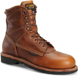 "Men's Carolina 8"" Domestic CompToe Waterproof - Tobacco"