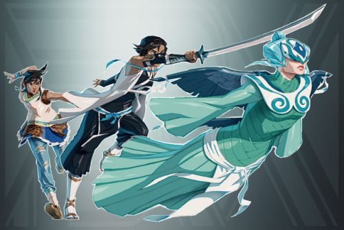 Legend of Korra + Bleach  Each generation, only one Shinigami can wield the power of the Raava Zanpakutō. - https://zededge.tumblr.com/post/157997492056/legend-of-korra-bleach-each-generation-only-one