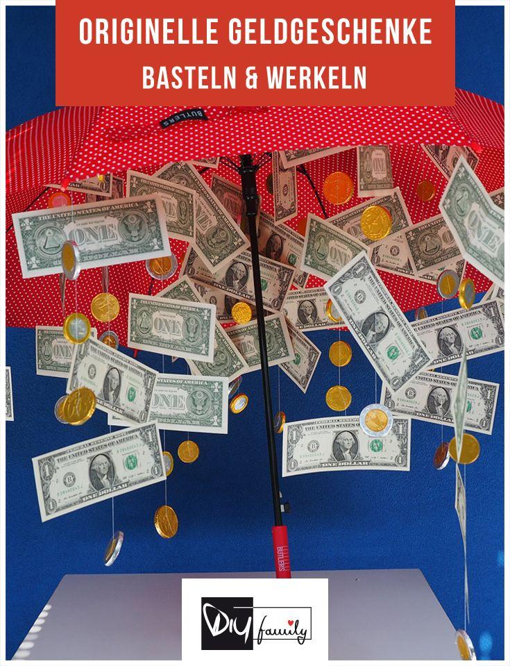 Die 12 originellsten Geldgeschenke für jeden Anlass  #money, #present, #creative, #diy, #handmade,