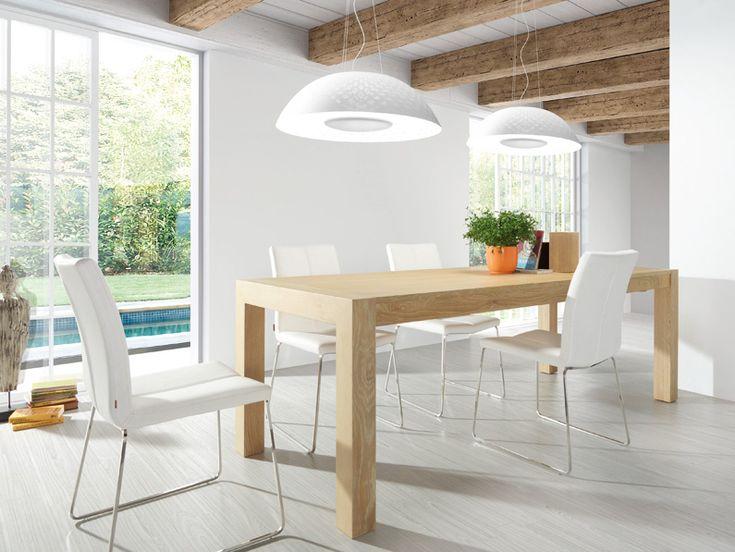 M s de 1000 ideas sobre sillas modernas de comedor en for Mesa comedor madera moderna