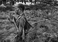 Bushmen, Botswana Bird Man, Africa by Sebastião Salgado