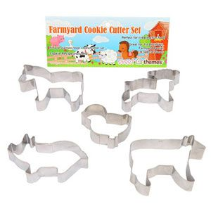 Farmyard Party Cookie Cutters