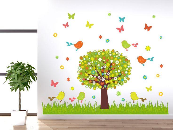 75 best Wanddeko für Kinderzimmer images on Pinterest Colors - wandsticker babyzimmer nice ideas