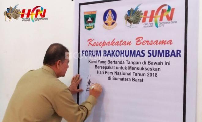 Covesia.com- Badan Koordinasi Humas Pemerintah se-Sumatera Barat mengadakan rakor terkait persiapan menjelang Hari Pers Nasional (HPN) ke 73 yang jadwalkan...