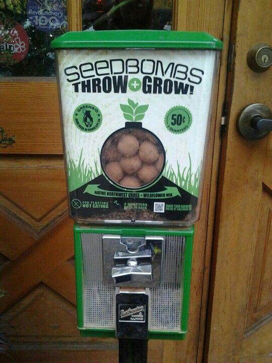 Guerilla garden vending machine