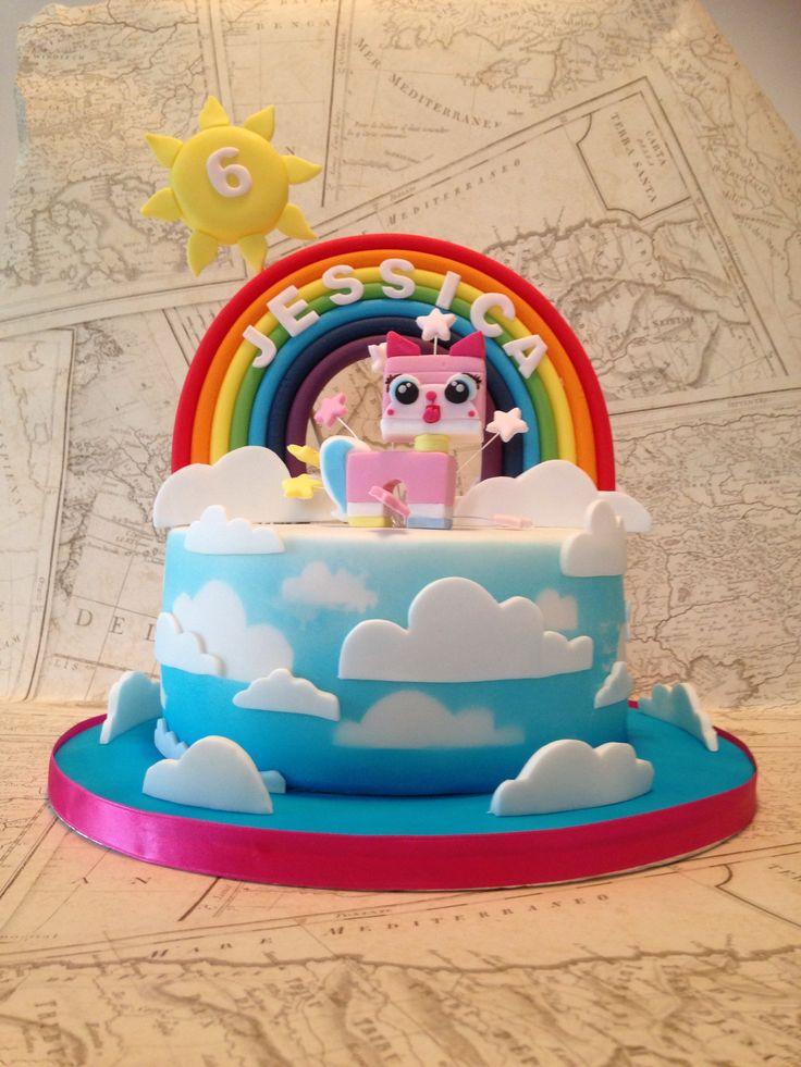 Uni Kitty Cake