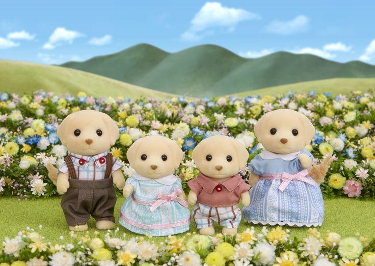 Έχουν ακούσει τόσα πολλά για εσάς και θέλουν να σας γνωρίσουν. ;) Sylvanian Families GR ♥ Yellow Labrador Family ♥