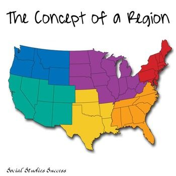 Regions Gallery Walk and Activity | Teaching Ideas | Geography ...
