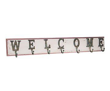 """Nástěnný věšák """"Welcome"""""""