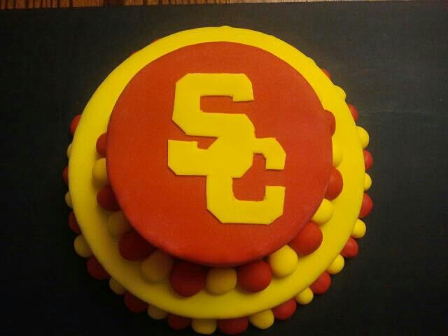 Usc Birthday Cake Images : USC birthday cake DIY birthday ideas Pinterest