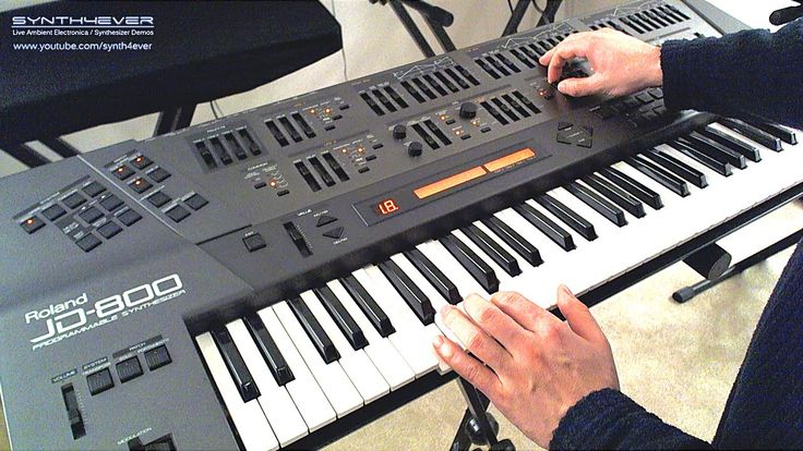 http://www.youtube.com/synth4ever - Roland JD-800 synth demo - playing ambient chillout space music soundscape on Roland JD 800 digital synthesizer from Roland.  ========  ► SUBSCRIBE http://www.youtube.com/subscription_center?add_user=synth4ever  ► Buy Music: http://synth4ever.bandcamp.com  ► Connect: http://www.synth4ever.com http://www.facebook.com/synth4ever.music http://www.soundcloud.com/synth4ever http://www.youtube.com/synth4ever http://www.twitter.com/synth4ever