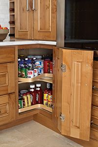 food preparation is made easier with preparation cabinet accessories from mcc