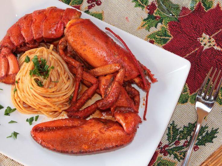 Spaghetti all'astice in bellavista. Ricetta semplice per cucinare gli spaghetti in un'occasione importante come Natale o capodanno al sugo di astice surgelato