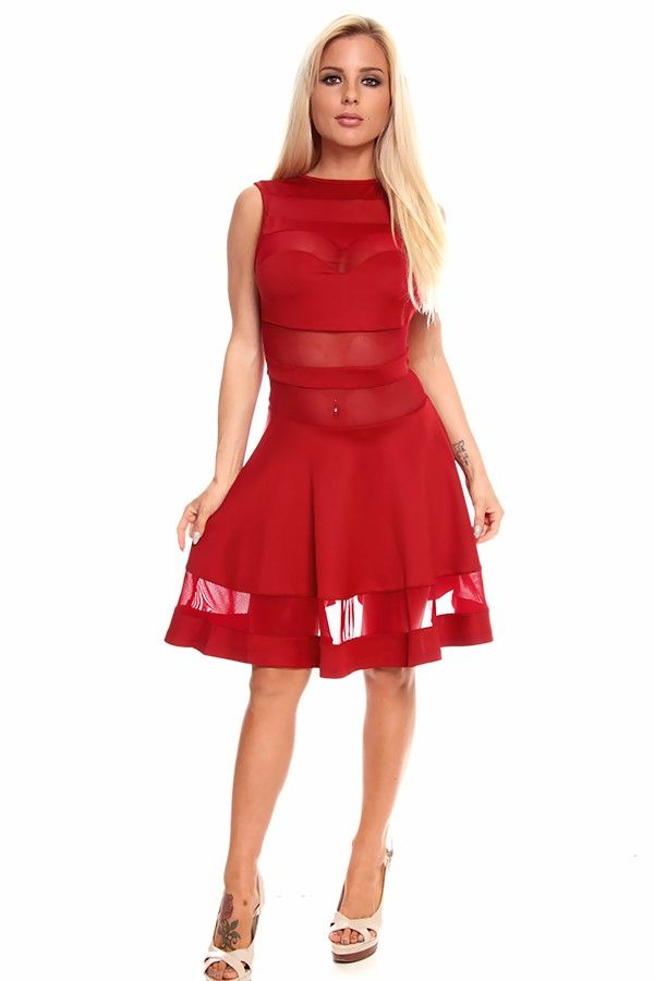 Sexy Red Dresses for Juniors