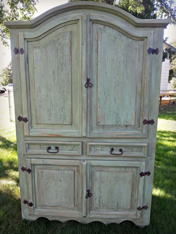 Rustic Mexican Pine Armoire