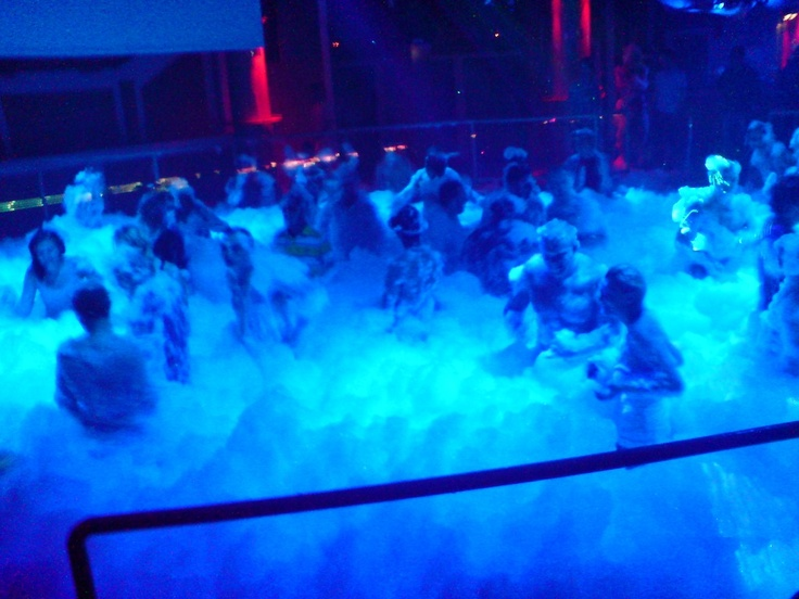 Sweet Idea! Ask about renting foam pit, DJ equipment, and other games & entertainment for college events!  foam party @Julie Harvey@Margaret Lewis@Elise Ferguson this is happenin.