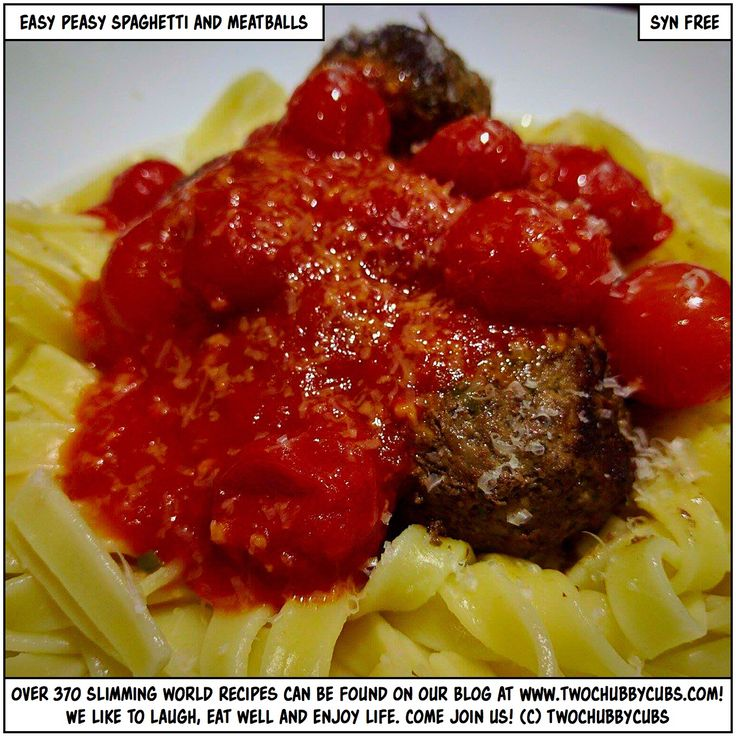 PLEASE LIKE AND SHARE! A quick, easy dinner: easy peasy spaghetti and meatballs from the Hairy Bikers to the Hairy Bastards, please enjoy! Slimming World is perfect! Remember, at www.twochubbycubs.com we post a new Slimming World recipe nearly every day. Our aim is good food, low in syns and served with enough laughs to make this dieting business worthwhile. Please share our recipes far and wide! We've also got a facebook group at www.facebook.com/twochubbycubs - enjoy!