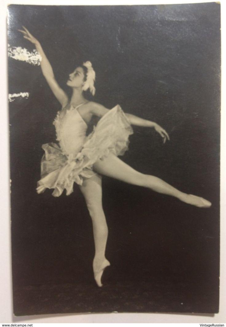 Soviet Ballet. Maya Plisetskaya As Odette Swan Lake By Tchaikovsky