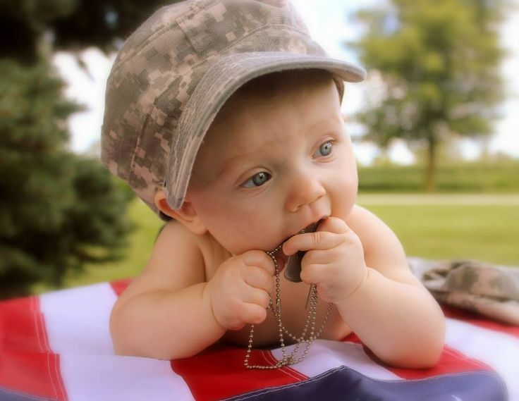 Army baby.