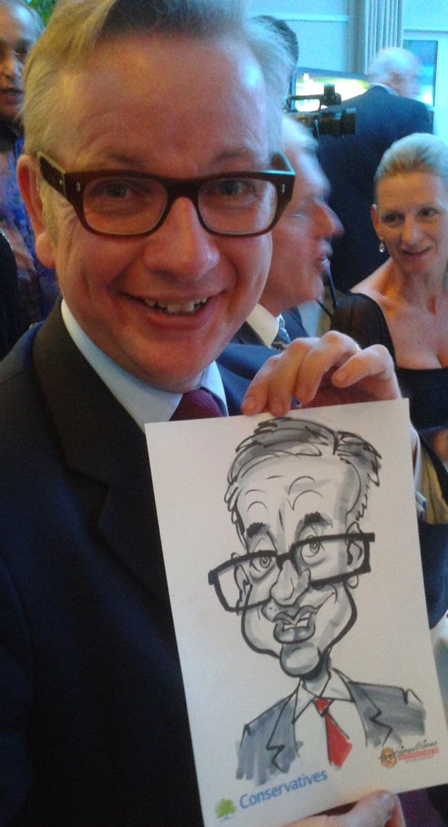 ONE DAY YOU are drawing caricatures out in a muddy field in Epping, or in a shopping centre in Basildon and the next you have been booked to...