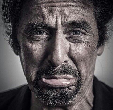 Al Pacino. Photographed by Andy Gotts (2013)  Al Pacino