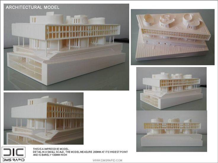 """""""Creative Council Building"""" 3D Print Model"""