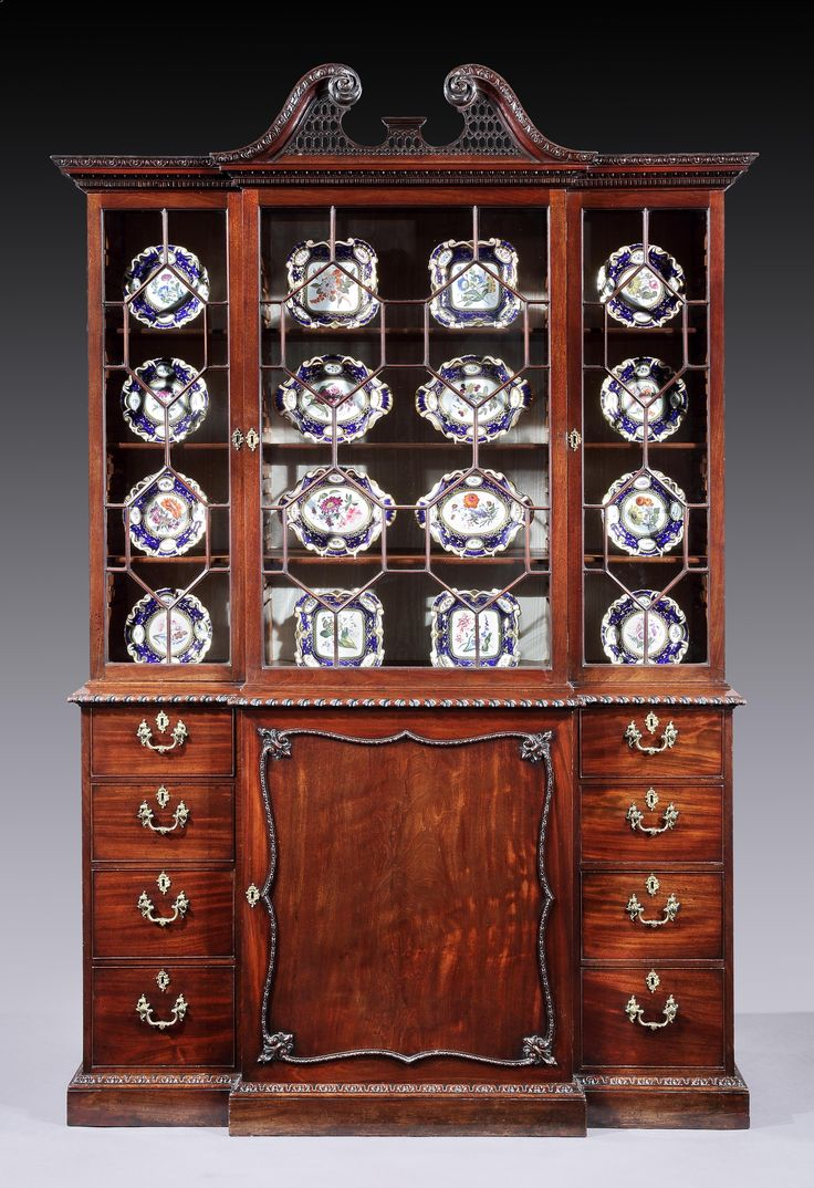An Important George III mahogany breakfront cabinet. Attributed to Mayhew &  Ince. English circa. Antique DealersAntique FurnitureChina ... - 32 Best Rolleston Antiques Images On Pinterest Antique Furniture