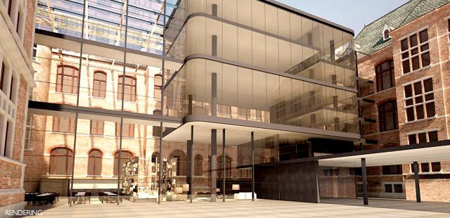 THE CONSERVATORIUM HOTEL AMSTERDAM  Amsterdam, Netherlands  Amsterdam's historic music conservatory retains its classic façade, but inside it's been totally re-imagined, put to new use as the ultra-modern Conservatorium Hotel.