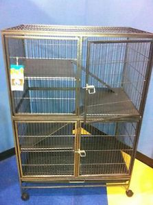 3 Level Cat Ferret Hamster Rat Bird Bunny Cage  for sale $175.