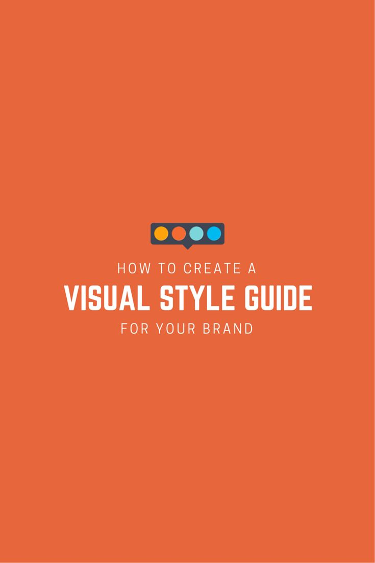 Why is a visual style guide so important? It ensures brand consistency throughout any collateral you produce – no matter who created it.