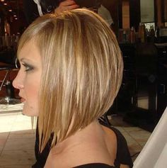 #2 - I love the A-Line cut, more severe angle, and layers without a stack in the back.