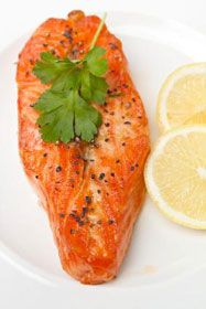 Kids Eat Right - Napa Valley Glazed Salmon