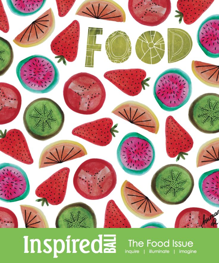 The Food Issue. Cover design by Human Ruben