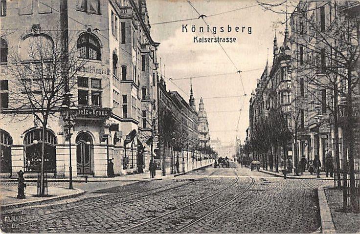 Königsberg Pr.         Kaiserstraße