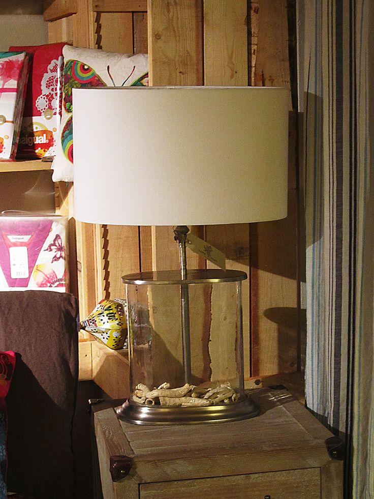 #lampada vetro e metallo #arredo #casa #www.valterpisati.it