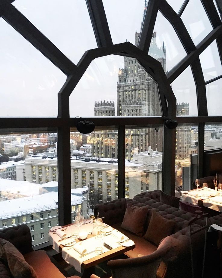 White Rabbit Restaurant & Bar: Moscow, Russia --- in the winter