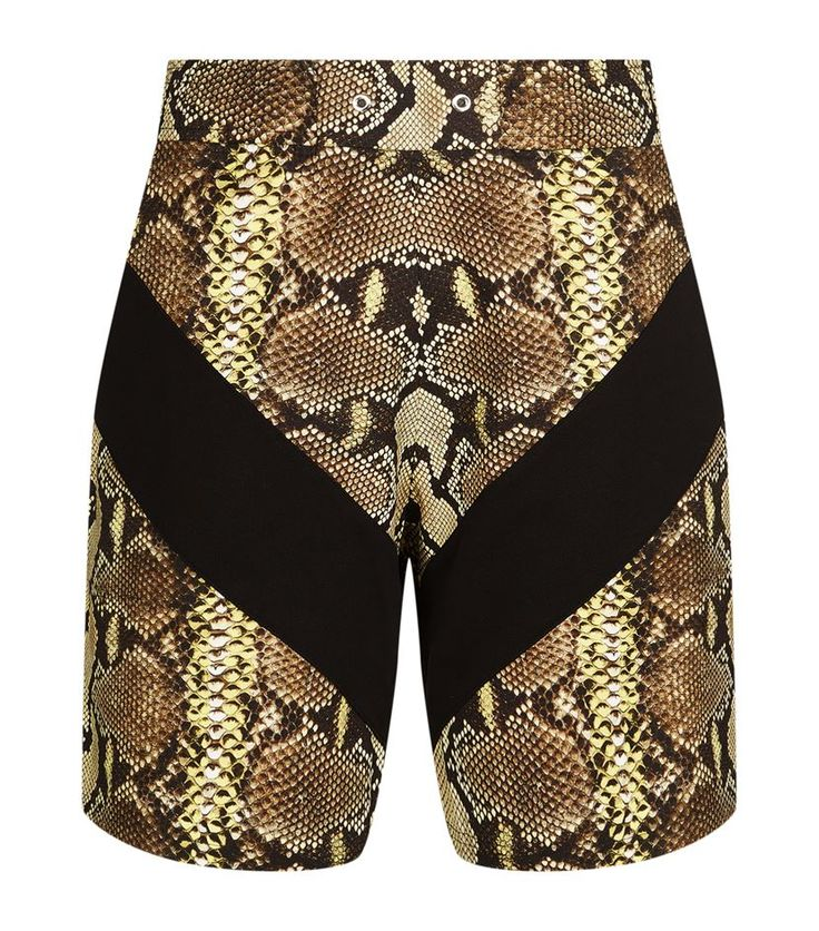 Givenchy Python Print Sweatshorts Multi 530 GBP. Epitomising the label's acclaimed streetwear aesthetic, these sweatshorts from Givenchy are imagined in a statement python print. Punctuated with two side pockets and suspended from an elasticated waistband, they'll add an urban-luxe twist to high-top sneakers and slogan tees.