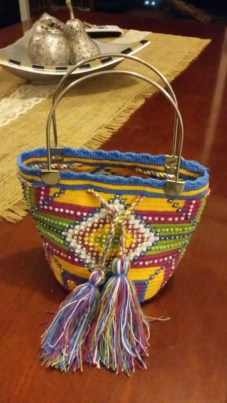Mochila de Mano Wayuu!!!