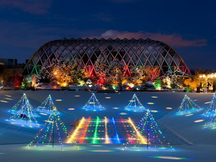 Here are 7 amazing things to do in Colorado this holiday season. 1. Denver Zoo Lights. Address: 2300 Steele St, Denver, CO 80205 Zoo Lights runs every...