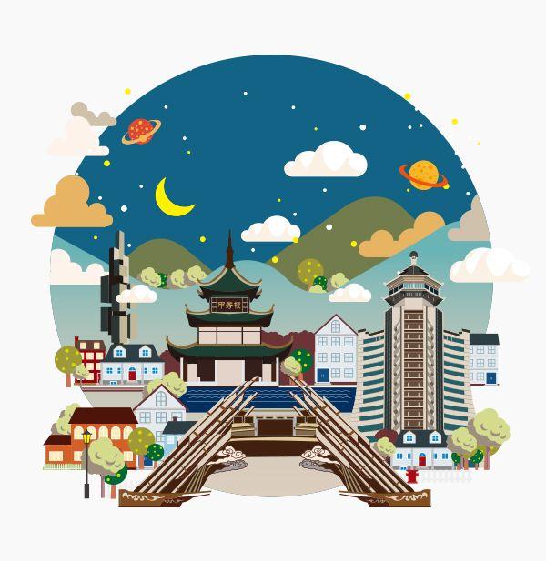 China Guiyang by Rocket Child , via Behance