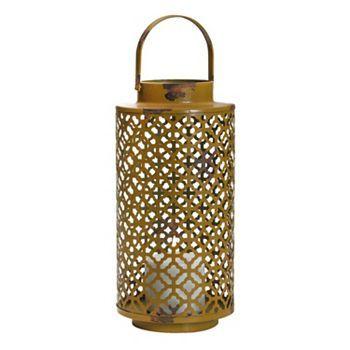 Trellis Pillar Candle Lantern #Kohls #fall #home #decor