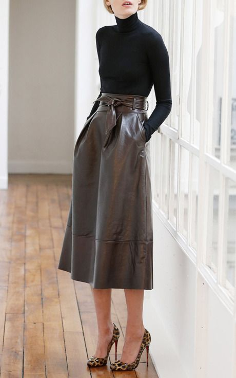 Martin Grant Pre-Fall 2015 Trunkshow Look 12 on Moda Operandi