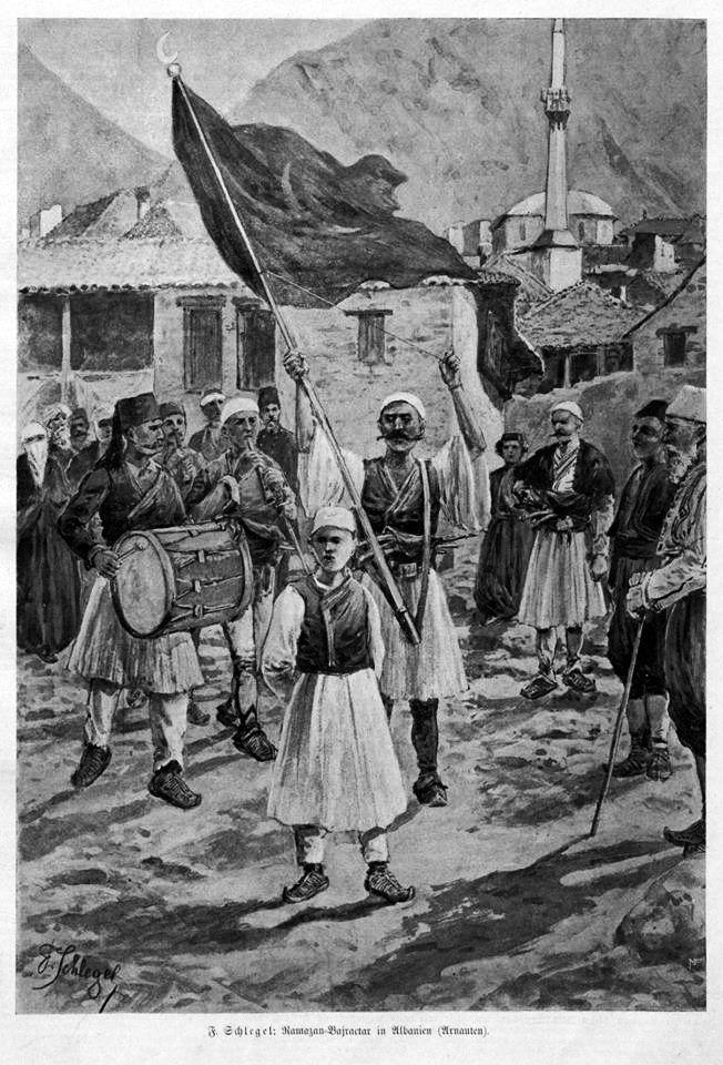 Ramazan bayraktar in Albania (Arnauts)